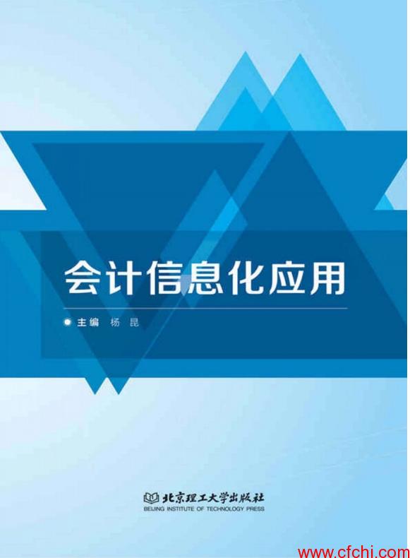 会计信息化应用 杨昆 PDF 【金融书籍下载】